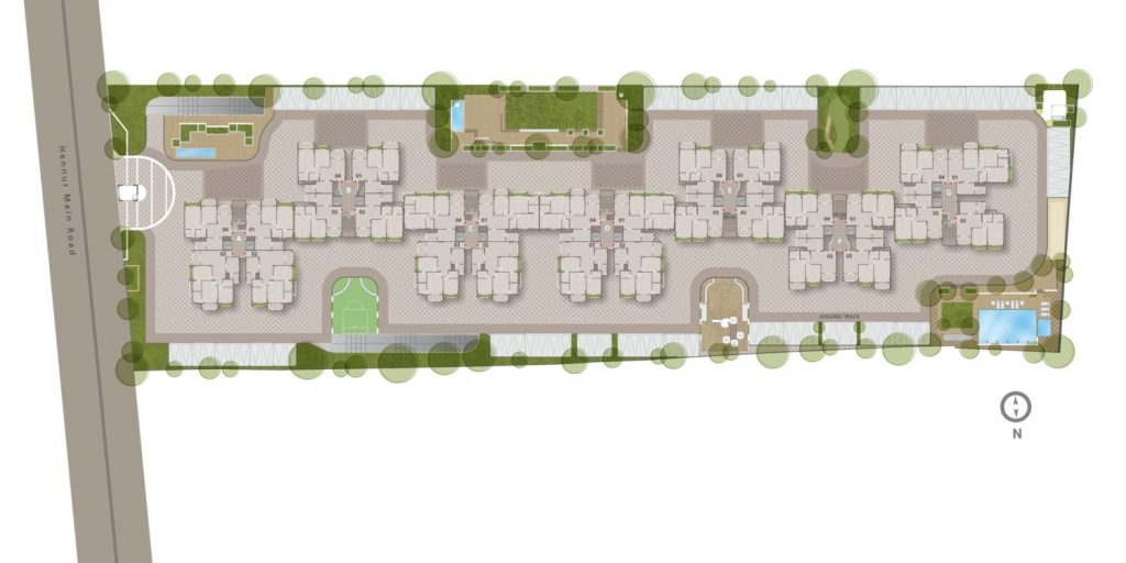 Goyal-Orchid-Woods-Siteplan