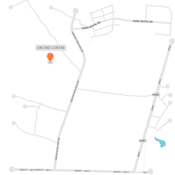 Goyal_OrchidCentre_Map